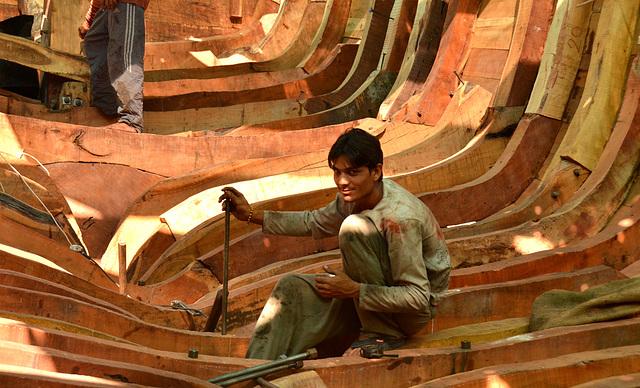 Boat builder