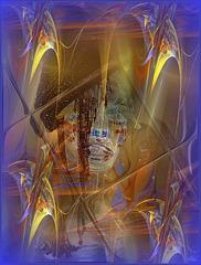 Et les frissons de l'âme  Les miracles entrevus  Revivent Pour rêver  un voyage  Un ailleurs oublié