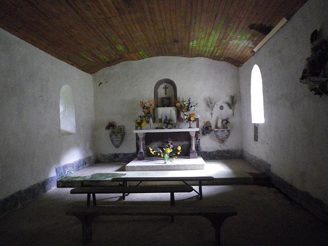 Chapelle Saint Sulpice, intérieur.