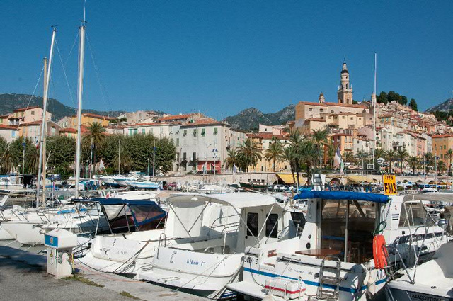 Menton and it's old port