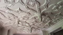 Ceiling of the dining room