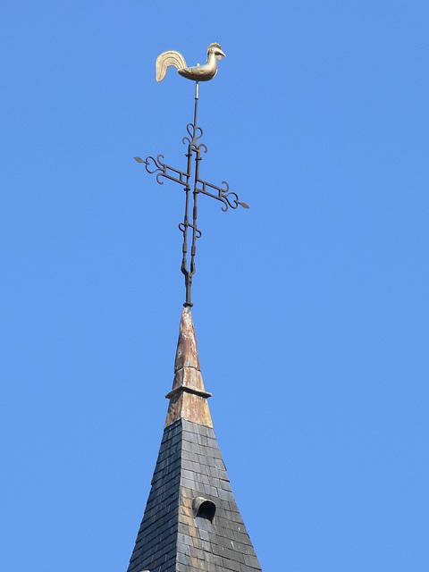 Kirchturm in Aschères-le-Marché