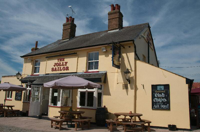 "pub ""the jolly sailor"""