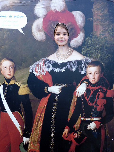 Mes princesses au château de Chantilly