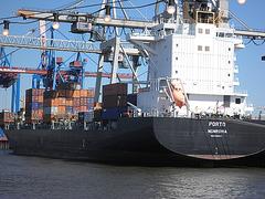 """Containerschiff  """"Porto"""""""