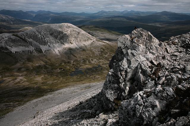 Amazing view from Beinn Liath Mhor ridge