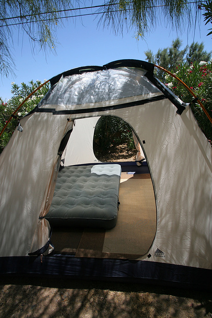 Tent - with plastic (0291)