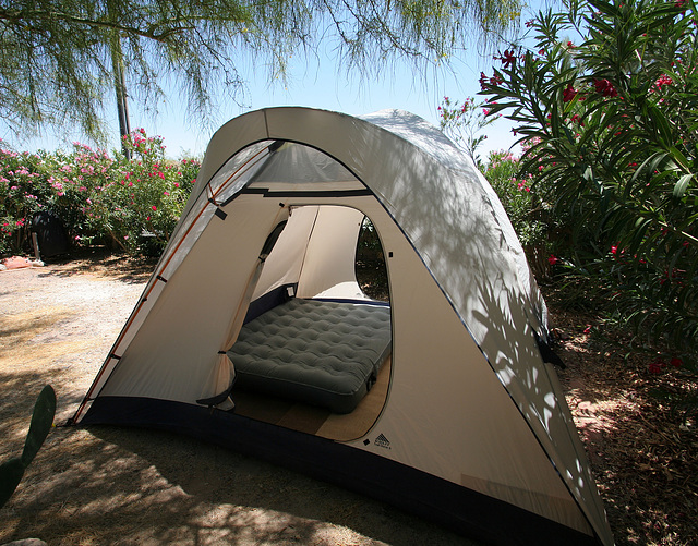 Tent with rainfly (0302)