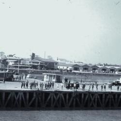 Quay-bridge on Geba River