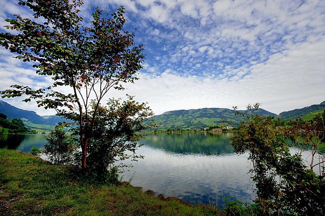 Lac de Zoug (Suisse centrale)