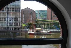 Amsterdam par la fenêtre