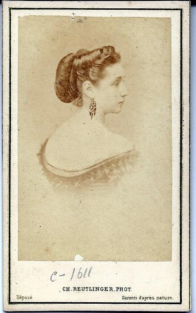 Coralie Brache by Reutlinger
