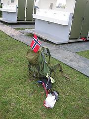 Achtergelaten pakketje, militair object of... ?