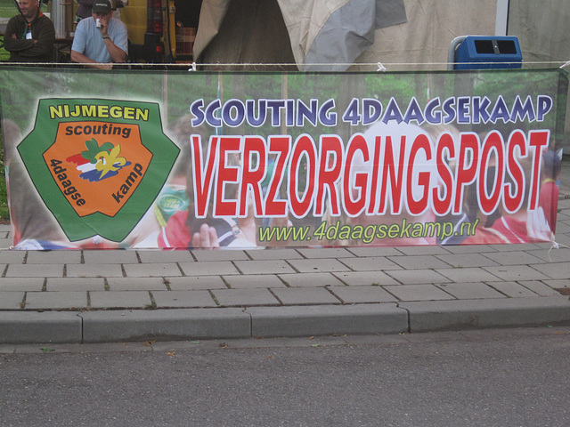 Ook scouting is aanwezig
