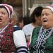 chanteuses d'un groupe folklorique