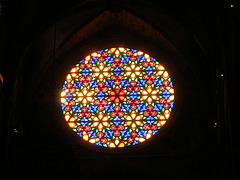 Rosasse de la cathédrale