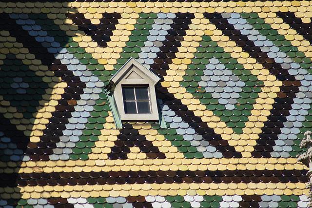 Stefansdom détail du toit