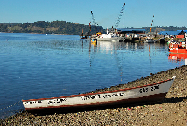 Chile, Chiloe: A boat by any other name