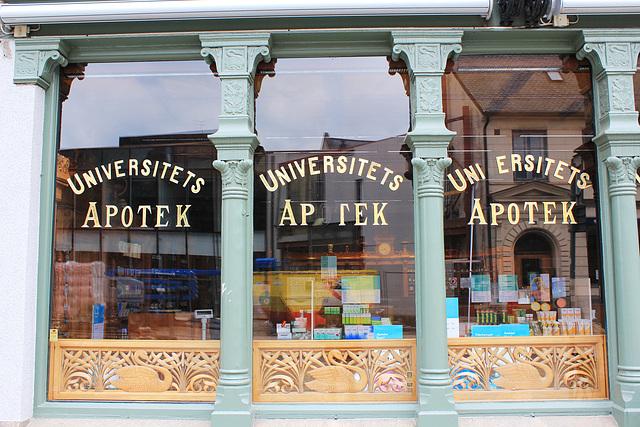 Lund, Universitätsapotheke in Lund
