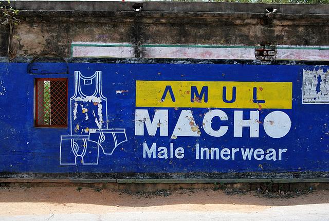 Ad for men's underwear. India