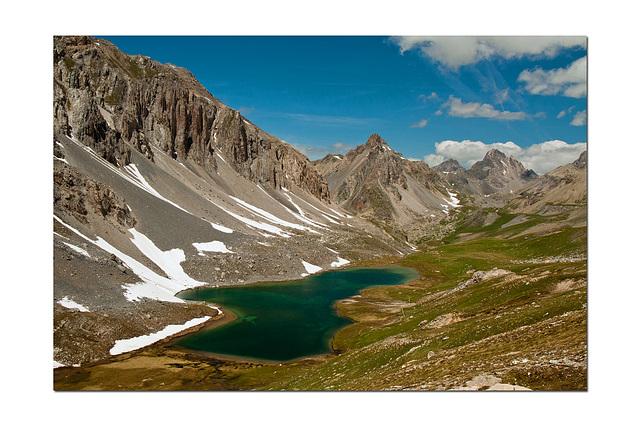 Le lac de l'Oronaye...(04).