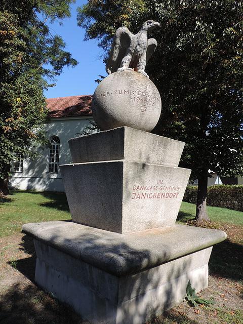Denkmal 1.Weltkrieg - Jänickendorf /2