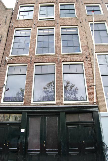 La maison d'Anne Franck à  Amsterdam