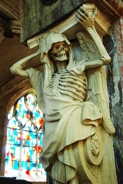 Détail du tombeau