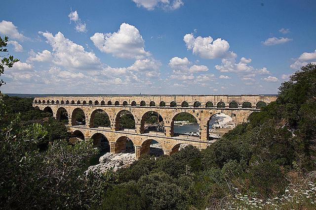 20110606 5118RWw [F] Aquädukt [Pont du Gard]