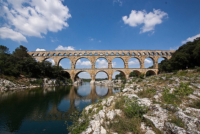 20110606 5116RWw [F] Aquädukt [Pont du Gard]