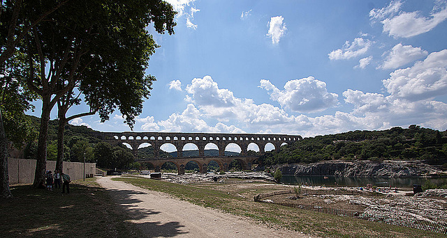 20110606 5114RWw [F] Aquädukt [Pont du Gard]