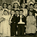 Bride and Groom, Children's Mock Wedding, Perry County, Pa., 1920s