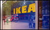 "IKEA Hamburg Altona. Mal wieder ""Mitarbeiterinfo: Code 1000"" (Feueralarm)."