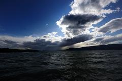Le lac de Neuchâtel...
