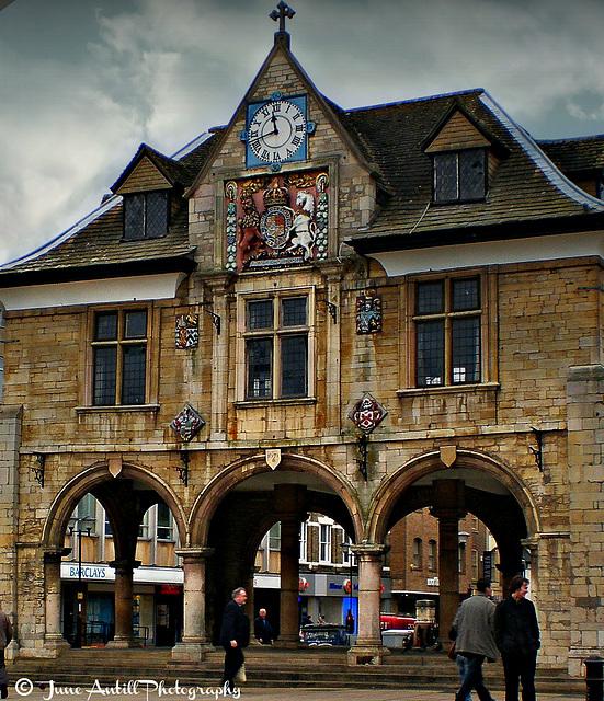 17th century Corn Exchange, Peterborough City Centre