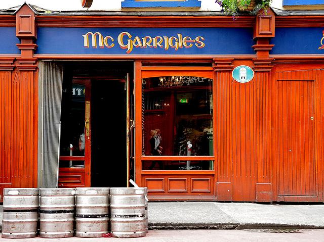 Nachschub für den Guinness-Zapfhahn