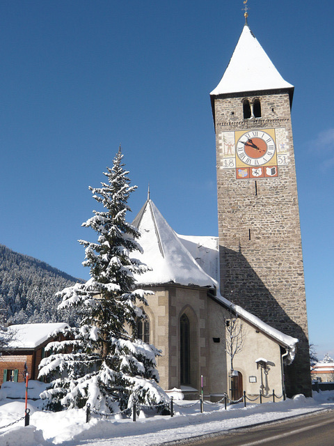 Kirche in Klosters