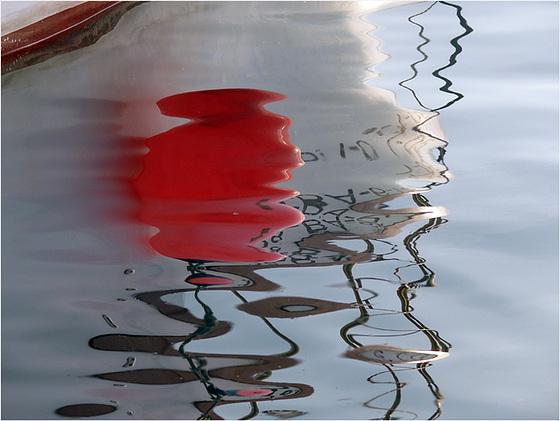 géométrie poétique : quand le rouge sombre