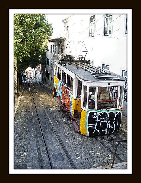 tramway tagué
