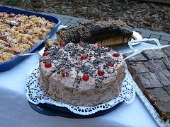 Kuchen zu später Stunde