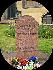 Gravestone of Greyfriars Bobby   Edinburgh