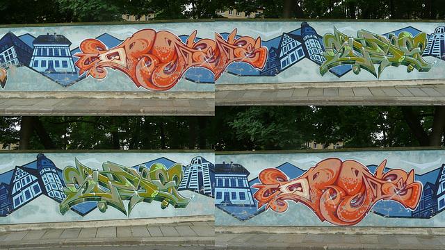 Graffiti in Dresden-Neustadt