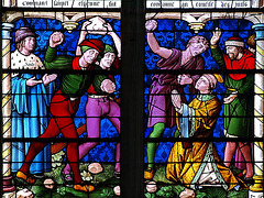 P6024044ac Terrible Scene of St Etienne Lapidation Window