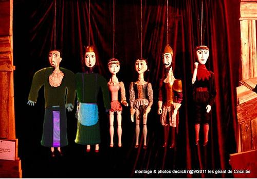 Géants en marionettes Tchèques