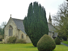 quenington church, glos.