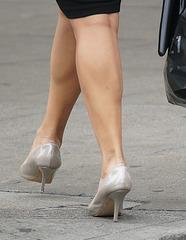 heels and stunning legs