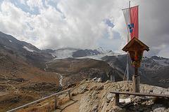 Bergkreuz bei der Martellhütte