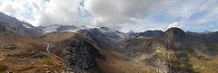 Panoramablick von der Martellhütte