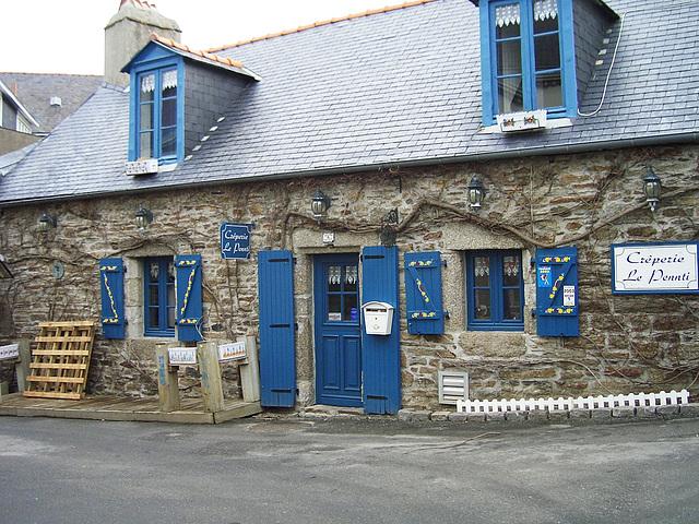 Crêperie in der ville close, Concarneau