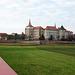 Schloss Hartenfels und die neue Elbbrücke